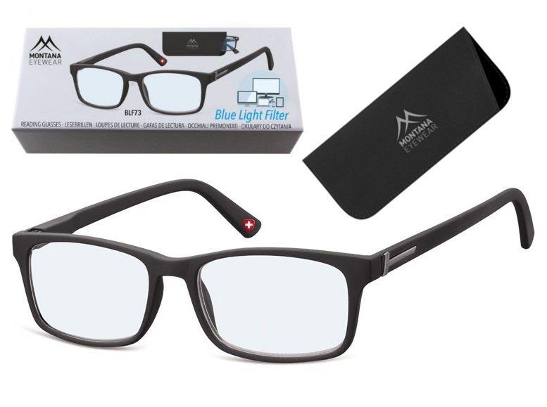 Okulary Do czytania i Komputera z Antyrefleksem BLFBOX73