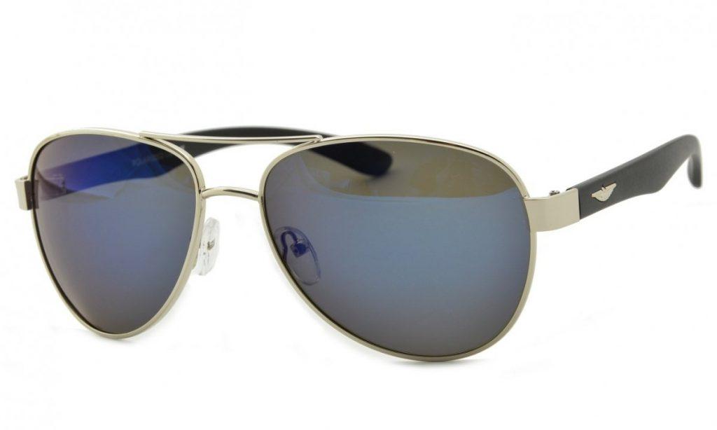 Pilotki okulary Polaryzacyjne lustrzanki POL-84