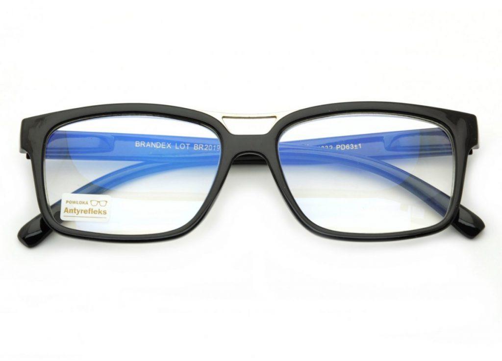 Plusy Okulary z Antyrefleksem do Czytania do Komputera z flexami ST304
