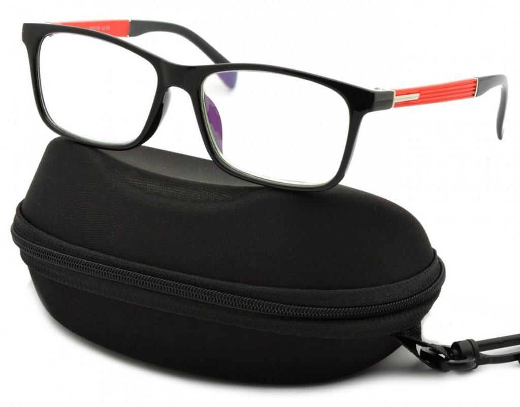 Plusy Okulary Do Czytania i Komputera z Antyrefleksem ST301