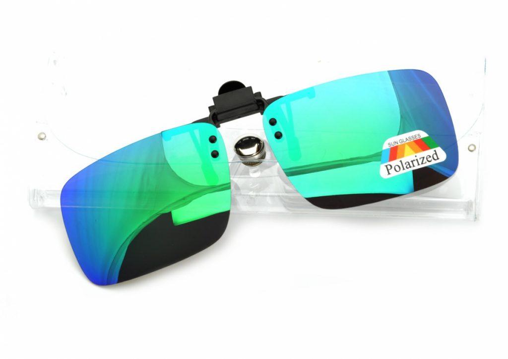 Nakładki lustrzane polaryzacyjne na okulary korekcyjne + ETUI - NA-162